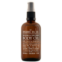 The Organic Oil Co Macadamia Sunflower Body Oil