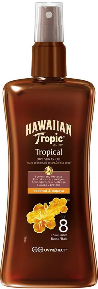 Hawaiian Tropic Dry Spray Oil