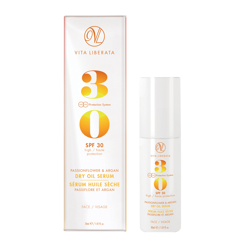 Vita Liberata Dry Oil Face Serum Spf 30