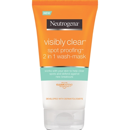 Neutrogena Visibly Clear Spot Proofing 2in1 Wash Mask