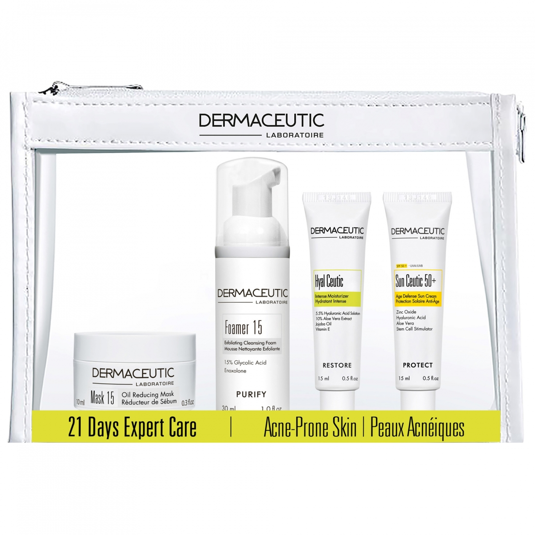 Dermaceutic 21 Days Expert Care Kit Acne Prone Skin