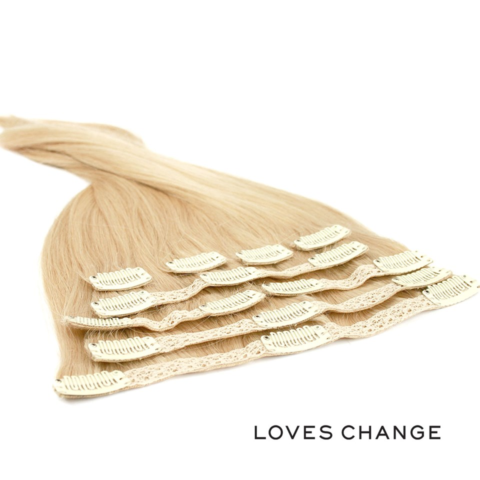 Toupema Belgal Loves Change Clip in Extensions