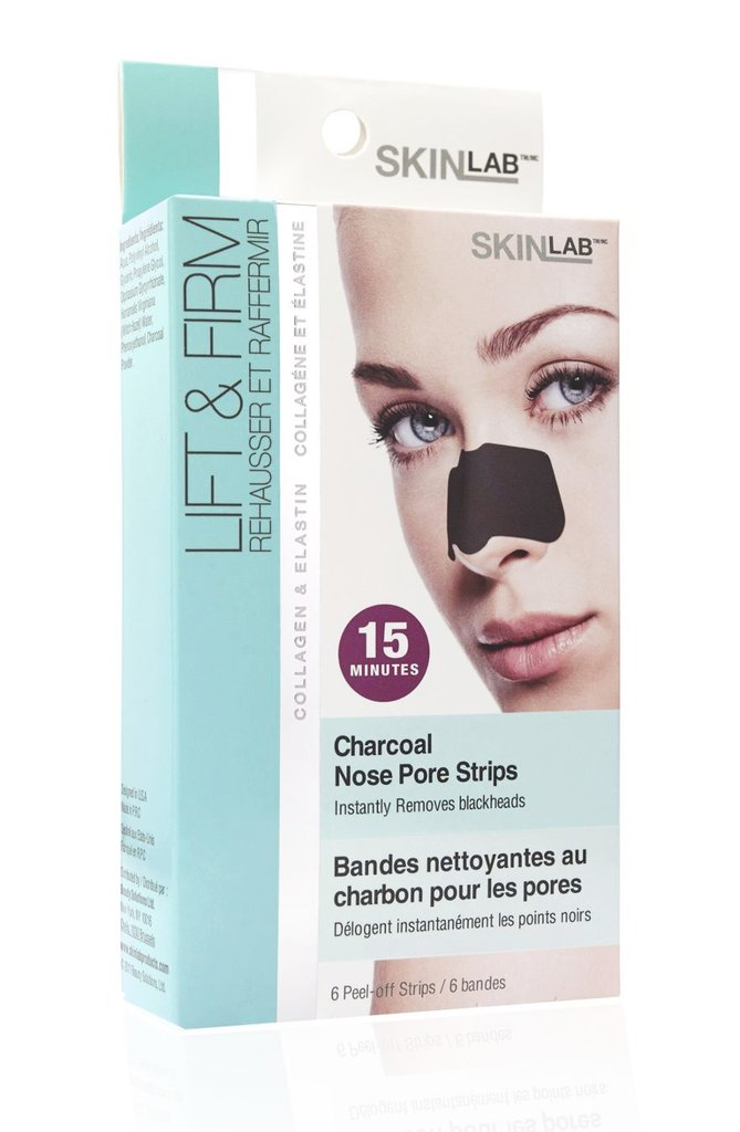 Skin Lab Charcoal Nose Pore Strips