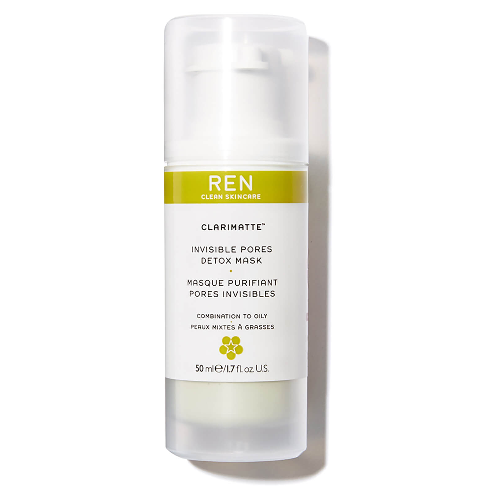 REN Face Clarimatte Invisible Pore Detox Mask