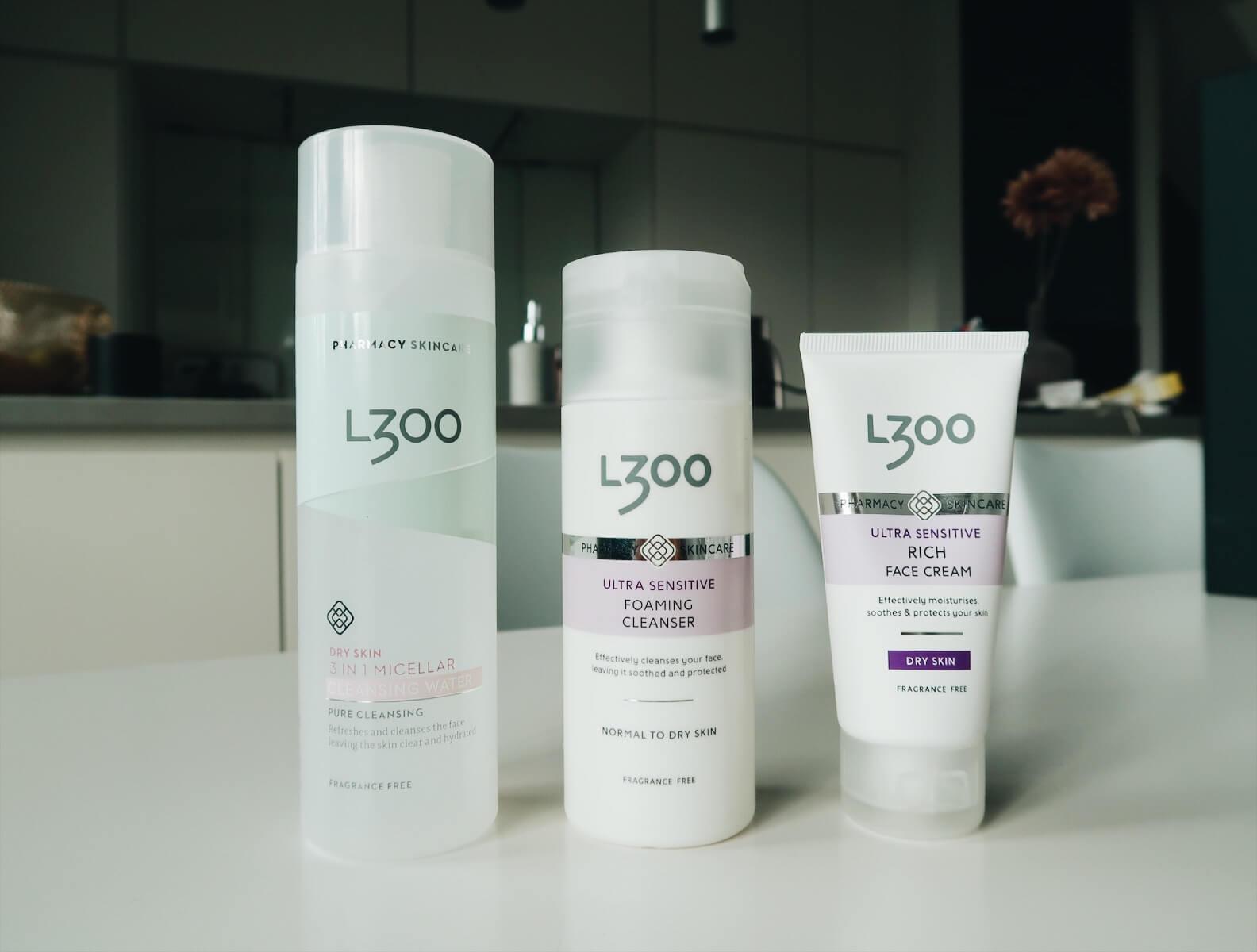 l300 hudvård recension